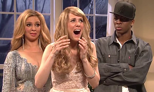 Kristen Wiig as taylor swift